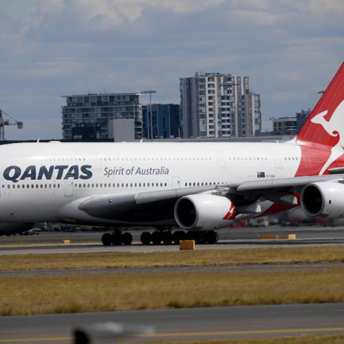 Qantas halts most international flights until October