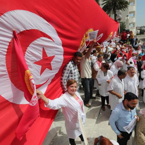 Turmoil in Tunisia over unemployment
