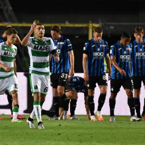 Inter's Serie A hopes spoiled in draw against Sassuolo