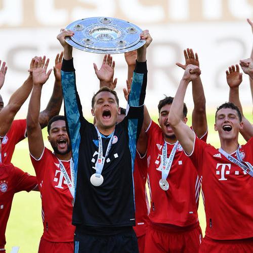 Bundesliga champions Bayern Munich ends season winning against VfL Wolfsburg