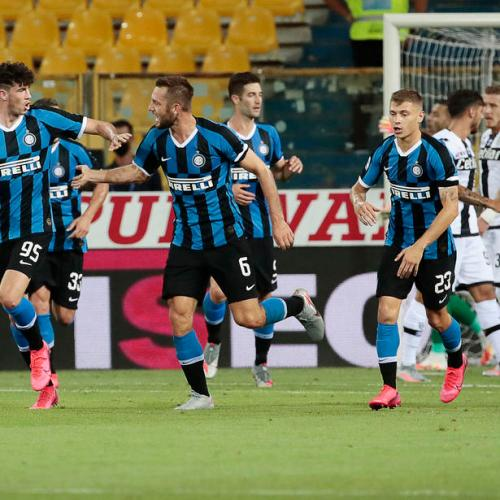 Inter's fightback earns them three important points against Parma