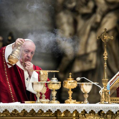 Photo Story: Pope celebrates mass and blessing of the Pallia for the feast of Saint Peter and Paul