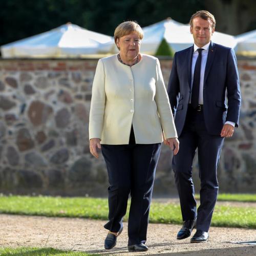 Merkel-Macron insist again for need of effective agreement on European reconstruction plan