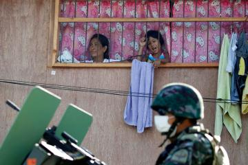Philippines bans children from going out