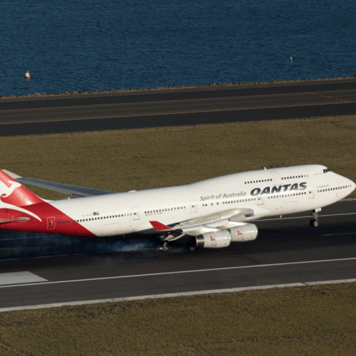 "Qantas to operate three one-hour ""farewell jumbo joy flights"" for 747 jumbo jet"