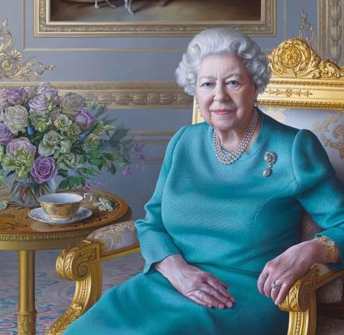New portrait of Queen Elizabeth unveiled by British Foreign Office