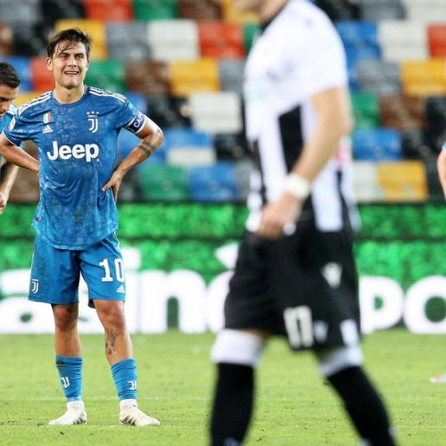 Juventus fail to secure title after late goal defeat at Udinese