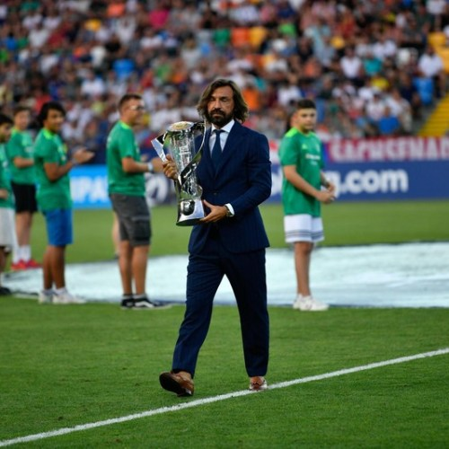 Andrea Pirlo appointed coach of Juventus under-23