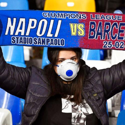 Napoli president concerned about playing in Barcelona