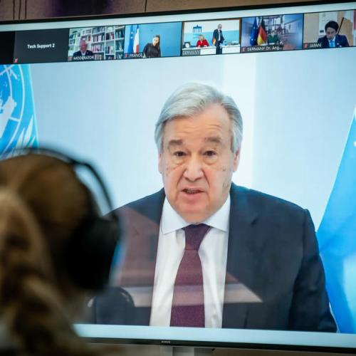 U.N. chief warns foreign interference in Libya conflict at 'unprecedented levels'