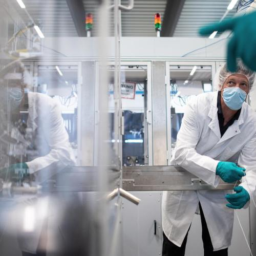 Chinese demand helps German manufacturers weather COVID-19 pandemic