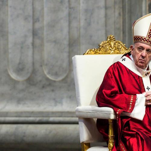 The Pope says coronavirus pandemic showed media mission essential