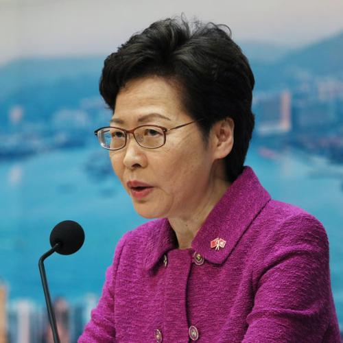Hong Kong's top leader piles up cash at home after U.S. sanctions