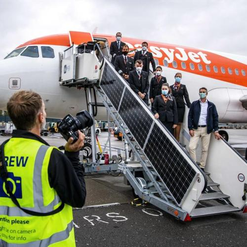 Photo Story: EasyJet resumes flying from Schiphol