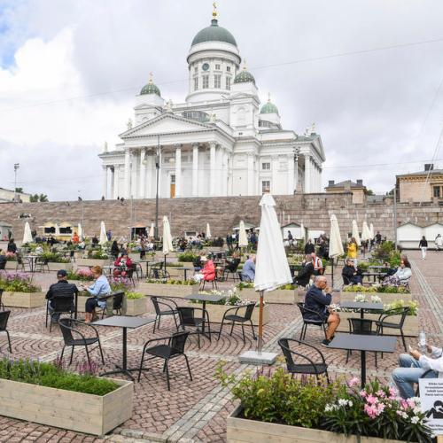 Photo Story: Helsinki adapts to the new times