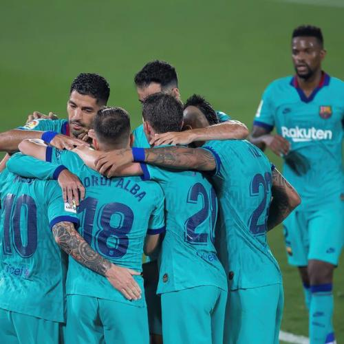 Barcelona beats Villareal after disappointing streak of matches