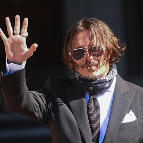 Johnny Depp in London for libel trial against The Sun
