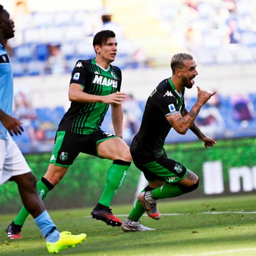 Lazio drop more points as they succumb to Sassuolo