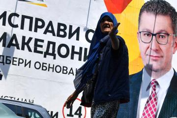 North Macedonia holds election