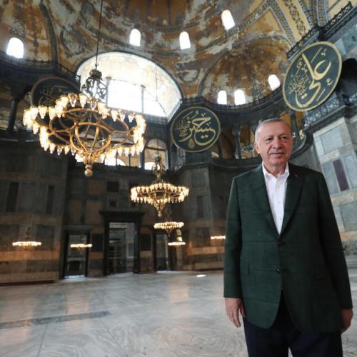 Hagia Sophia opens for Muslim worshippers