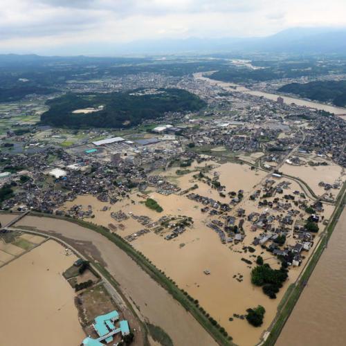 Nearly 40 feared dead in floods in southwest Japan