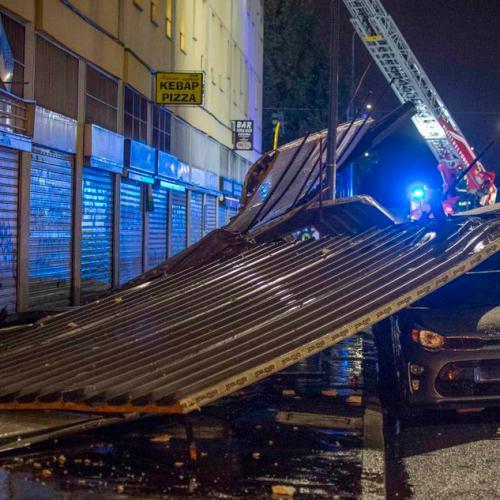 Violent storm causes damages in Milan