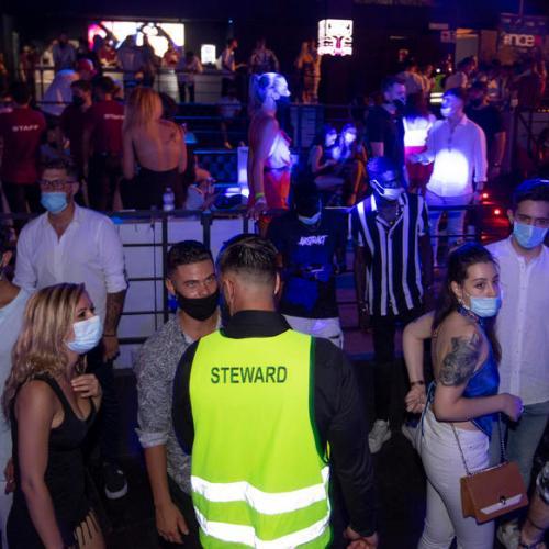 Photo Story: Nightlife amid coronavirus pandemic in Italy