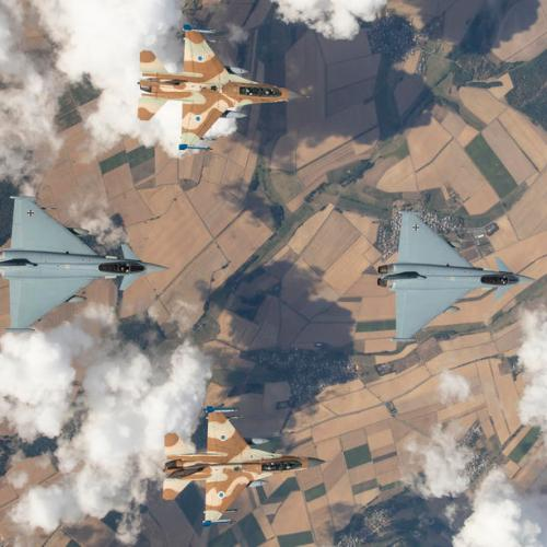 Photo Story: Historic Joint German-Israeli exercise Blue Wing 2020