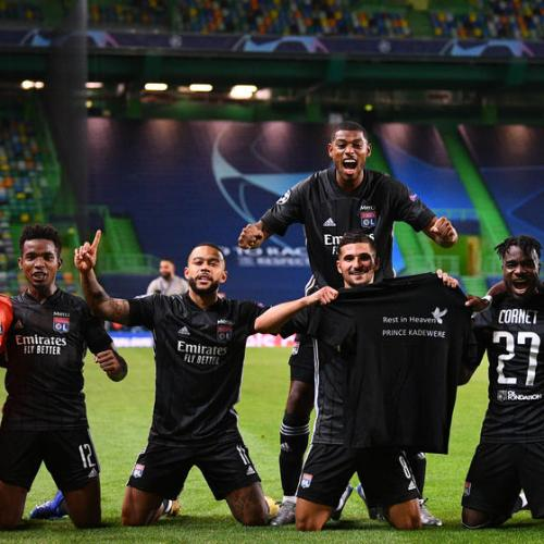Olympique Lyonnais beat favourites Manchester City