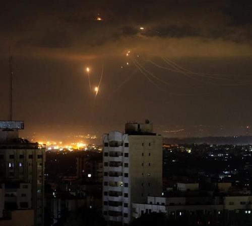 Israeli tanks shelled Hamas positions in Gaza