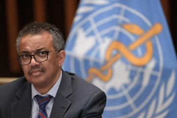 WHO's Tedros looks set to run unopposed for a second term