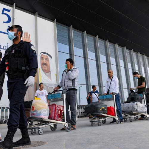 Kuwait bans flights to several 'high risk' countries