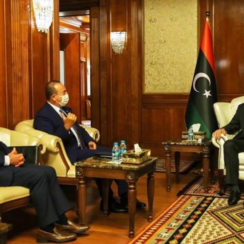 Libya's Al-Sarraj meets Maltese and Turkish Foreign Ministers