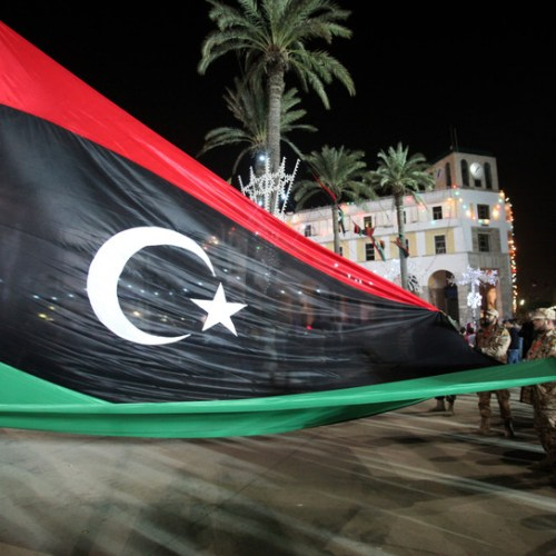 Protesters dispersed by gunfire in Libya's capital Tripoli