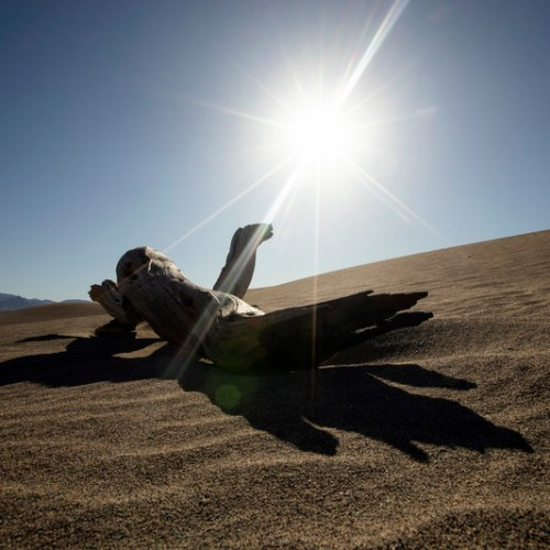 Thermometer in Death Valley, California shows highest global temperature in over 100 years