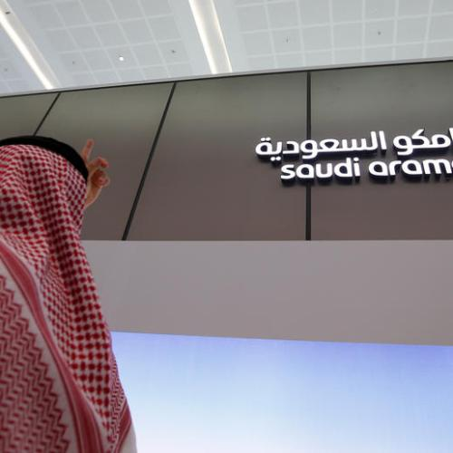 Saudi Aramco's profit plunges, sees signs of oil market recovery