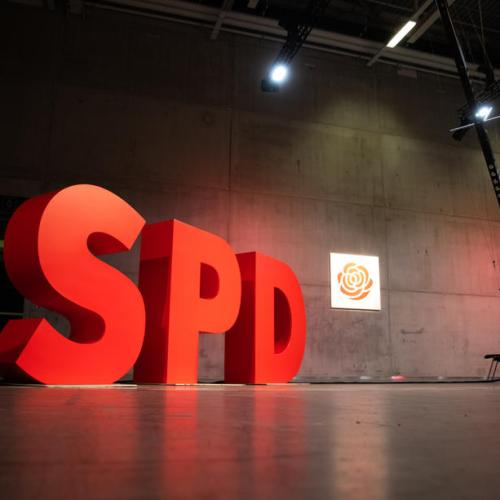 Germany's SPD gains ground on conservatives in two polls