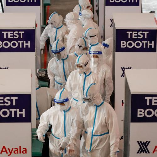 The Philippines registers 3,379 new coronavirus infections, 24 deaths