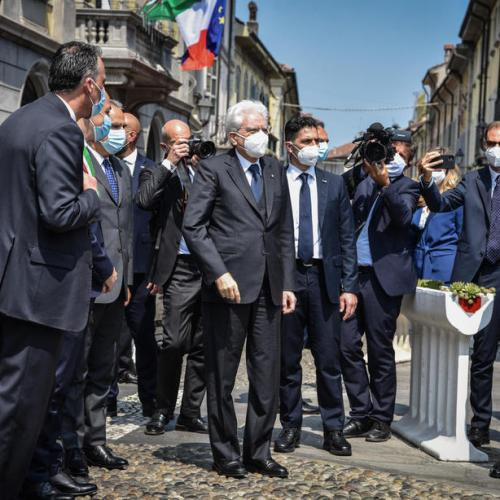 Italian President stresses that freedom does not include the right to make others ill