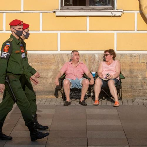 Russia reports nearly 24,000 new COVID cases, Moscow may have passed peak