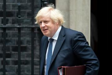 UK's Johnson urges EU to consider post-Brexit proposals seriously