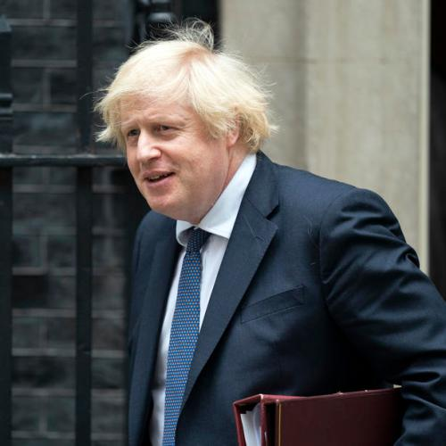 UK's Johnson urges parents to send their children back to school