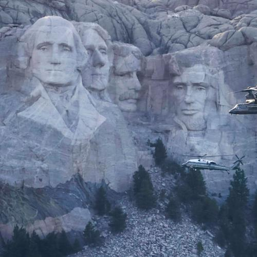 White House considered carving face of Donald Trump on Mt Rushmore