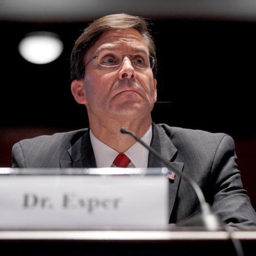 U.S. 'won't cede an inch' in Pacific, Esper says in swipe at China