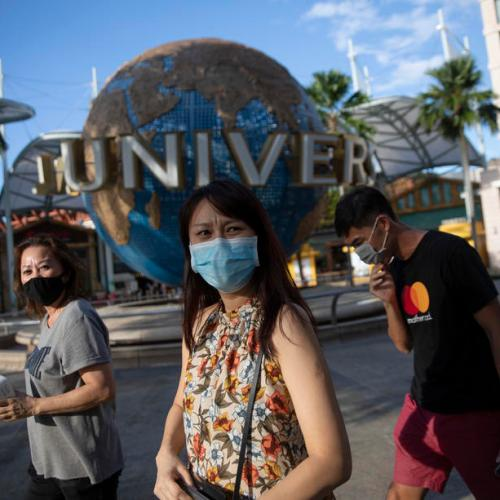 Singapore's Universal Studios deploys facial recognition for entry