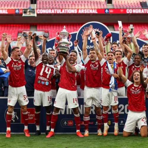 Arsenal win FA Cup after beating Chelsea