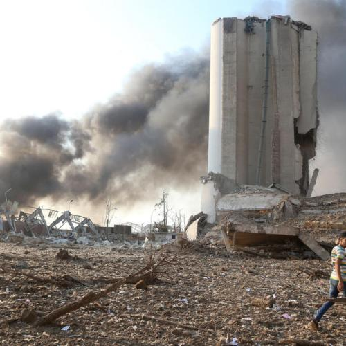 After port blast, Lebanon has less than a month's grain reserves, says minister