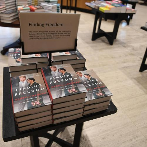 Finding Freedom – Biography of Prince Harry and Meghan Markle hits the bookstores in the UK