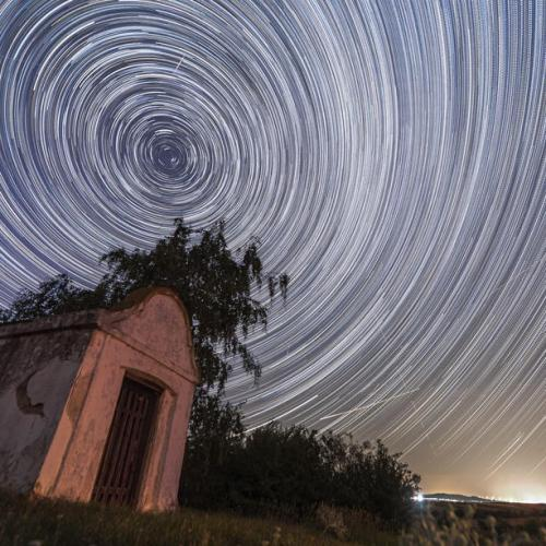 Photo Story: Perseid meteor shower over Austria
