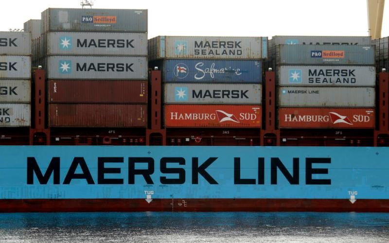 Maersk sees container demand at pre-COVID levels in first-half of 2021